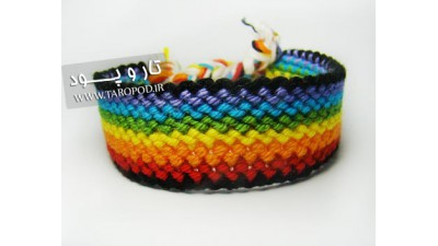 دستبند دوستی رنگین کمان