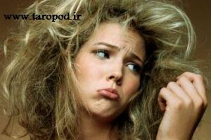 چگونه از دست موهای چرب خود راحت شوید!
