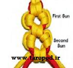 آموزش بافت دستبند پاراکورد شکوفه
