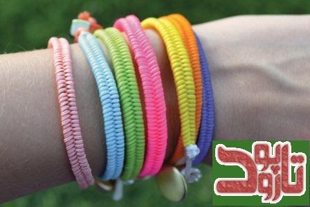 بافت دستبند دوستی پاراکورد