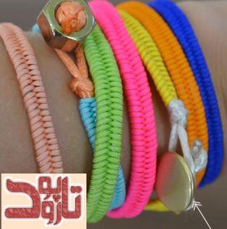 بافت نمونه ای دیگر از دستبندهای پاراکورد