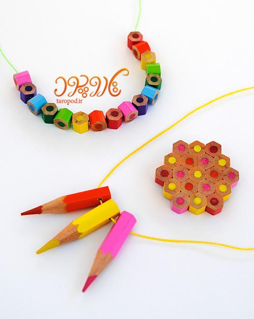 آموزش ست مداد رنگی