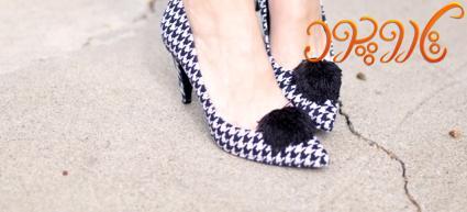 کفشای قدیمی رو با پارچه های رنگی نو کنیم+تصویر