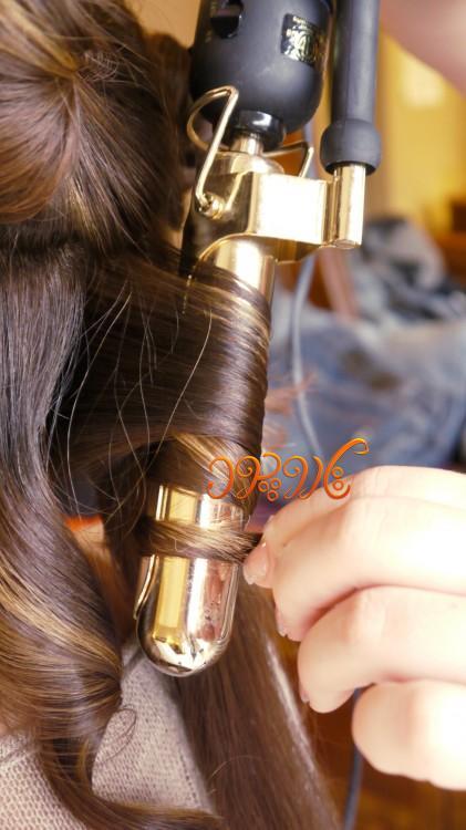 آموزش فر کردن مو به وسیله بابلیس