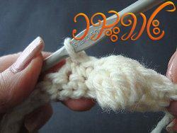 آموزش بافت فرشینه با تور How Do I Crochet: Popcorn Stitch AllFreeCrochetAfghanPatterns.com