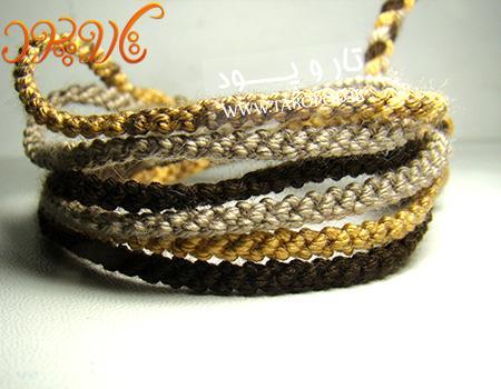 آموزش ویژه بافت دستبند دوستی بسیار پرطرفدار طنابی