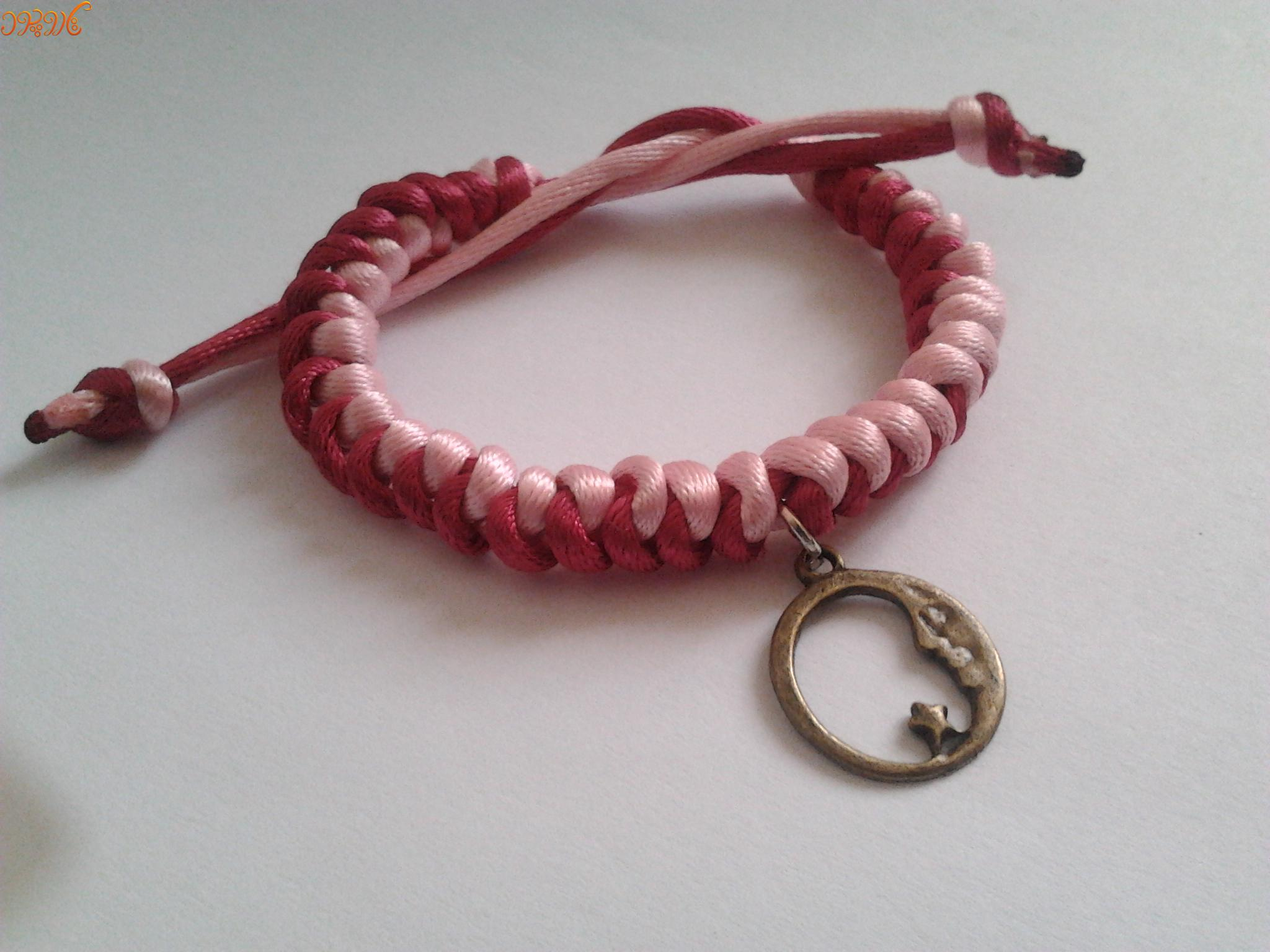 آموزش بافت دستبند پاراکورد با آویز
