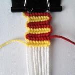 آموزش بافت دستبند دوستی موجی آلفا