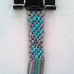 آموزش بافت دستبند دوستی باریک بی نهایت 2