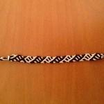 آموزش بافت دستبند دوستی نیلوفر