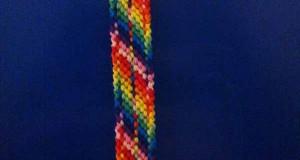 آموزش بافت دستبند دوستی رنگارنگ تاروپود