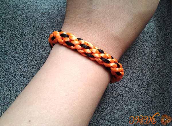 آموزش بافت دستبند کومیهیمو ۲