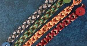 آموزش بافت دستبند دوستی تاروپود