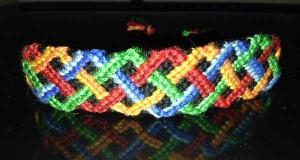 آموزش بافت دستبند دوستی تاروپود 2