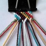 آموزش بافت دستبند دوستی تاروپود ۱