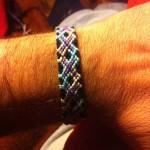 آموزش بافت دستبند دوستی تاروپود ۳
