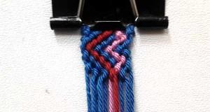 آموزش بافت دستبند دوستی ۸
