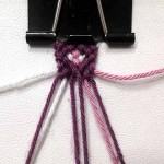 آموزش بافت دستبند دوستی ۱۱