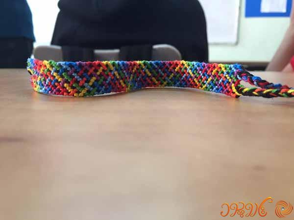 آموزش بافت دستبند دوستی ۱۳