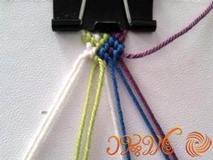 آموزش بافت دستبند دوستی 47