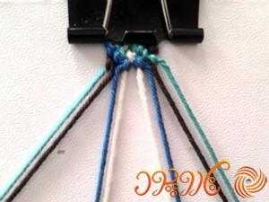 آموزش بافت دستبند دوستی 46