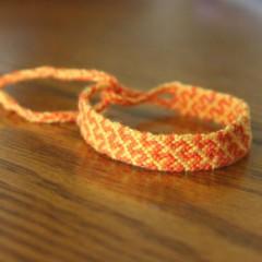 آموزش بافت دستبند دوستی ۴۵