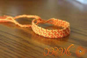 آموزش بافت دستبند دوستی 45