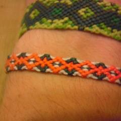 آموزش بافت دستبند دوستی ۴۲