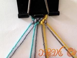 آموزش بافت دستبند دوستی 51