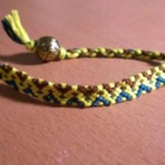 آموزش بافت دستبند دوستی ۵۲